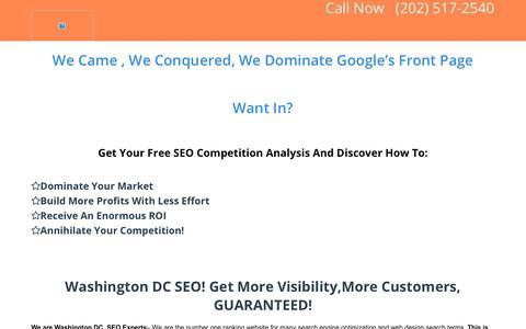 Boston SEO Services Washington DC SEO Companies and Marketing Experts