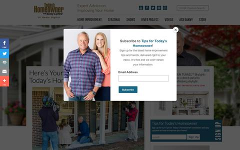 Screenshot of Locations Page todayshomeowner.com - Here's Your Chance to Appear on Today's Homeowner! | Today's Homeowner - captured Sept. 26, 2018