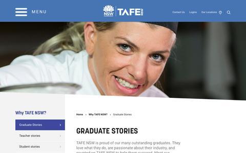 Graduate Stories - TAFE