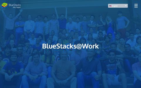 Screenshot of Jobs Page bluestacks.com - Work at Bluestacks! - captured Nov. 23, 2015