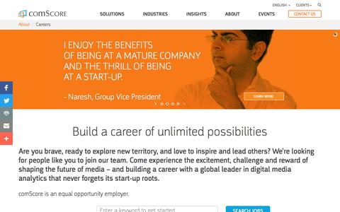 Careers - comScore, Inc
