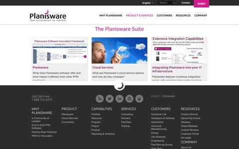 The Planisware Suite | Planisware