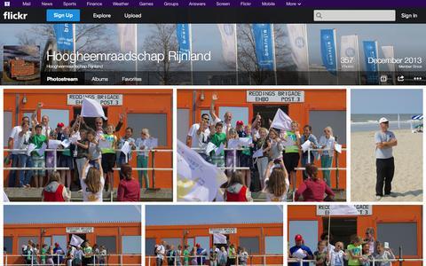 Screenshot of Flickr Page flickr.com - Flickr: Hoogheemraadschap Rijnland's Photostream - captured Oct. 22, 2014