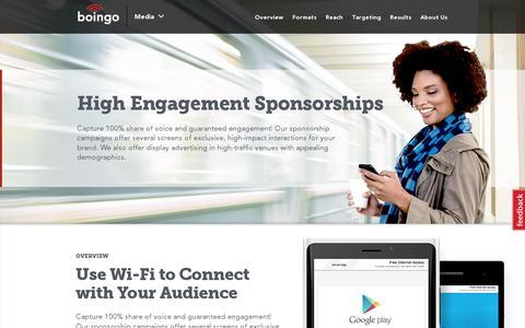 Screenshot of Press Page boingo.com - Media | Boingo Wireless, Inc. - captured July 20, 2014