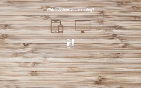 Screenshot of Home Page hyde-development.com - Hyde Development - captured Dec. 14, 2015