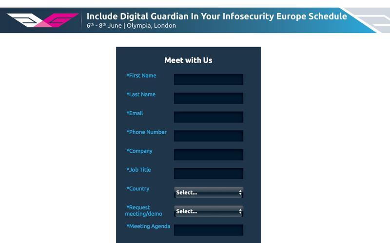 See Digital Guardian at Infosecurity Europe