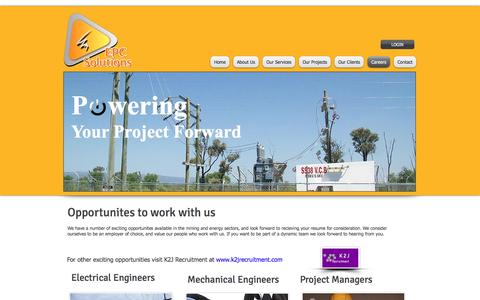 Screenshot of Jobs Page epcsolutions.com.au - epc solutions, electrical contractors, project management, electrical project managers, | Careers - captured Oct. 10, 2016