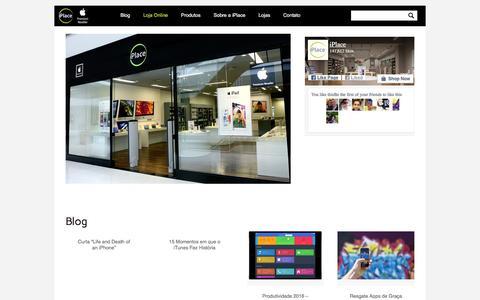 iPlace Blog � Not�cias e lan�amentos da Apple | iPlace � uma rede de lojas oficial apple com produtos exclusivos, lan�amentos, iPhone, iPod,  iPad, iMac, Macbook e acess�rios. Compre online!