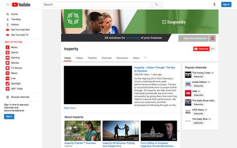 Insperity  - YouTube