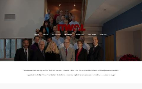 Screenshot of Team Page itwal.com - our team - ITWAL Limited - captured Nov. 25, 2016