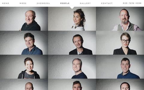 Screenshot of Team Page suitetv.com - People - Suite - captured Oct. 24, 2017