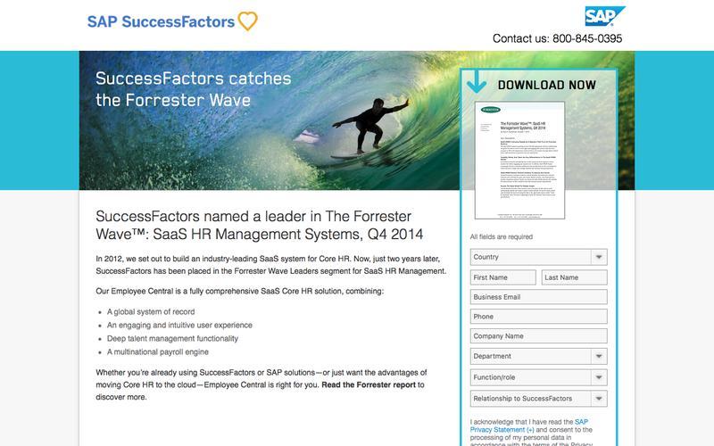 SuccessFactors catches the Forrester Wave             | SuccessFactors