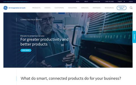 Connected Field Service     Industrial IOT     ServiceMax.com