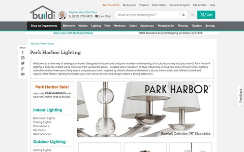 Park Harbor Lighting: Chandeliers, Vanity Lights, Pendants & More