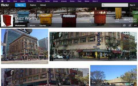 Screenshot of Flickr Page flickr.com - Flickr: Redhive Buzz's Photostream - captured Oct. 25, 2014