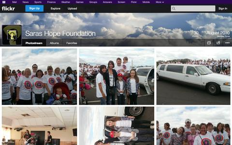Screenshot of Flickr Page flickr.com - Flickr: Saras Hope Foundation's Photostream - captured Oct. 23, 2014
