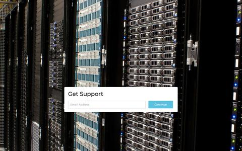 Screenshot of Support Page xothost.com captured Oct. 18, 2018