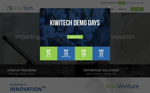 KiwiTech - Enterprise Technology Solutions | Startup Investors