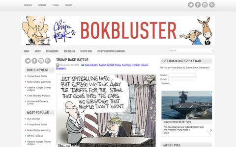 Screenshot of Jobs Page bokbluster.com - Bokbluster.com - The Political and Editorial Cartoons of Chip Bok - captured Dec. 2, 2018
