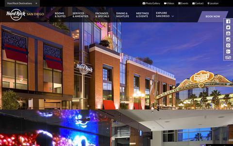 Hard Rock Hotel San Diego™ in Downtown Gaslamp Quarter