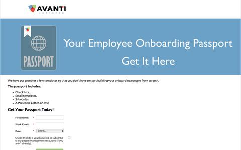 Employee Onboarding Email Templates, Welcome Letter, Checklists & Schedule| Avanti Software