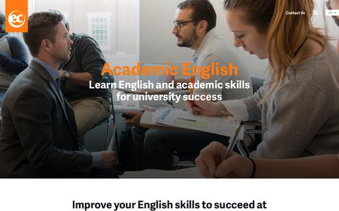 Learn English for University abroad - EC English Language Schools