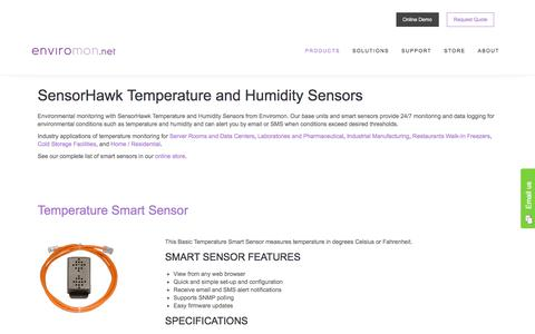 SensorHawk Temperature and Humidity Sensors - Enviromon