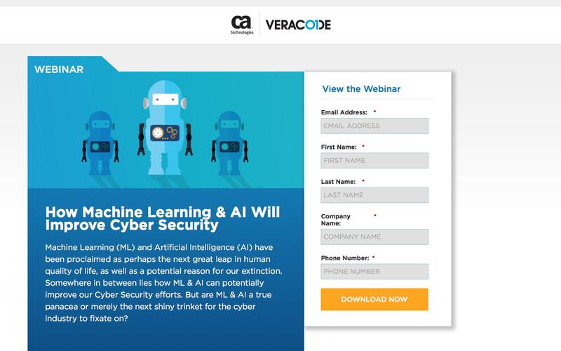 How Machine Learning & AI Will Improve Cyber Security | Veracode
