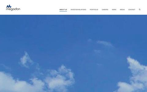 Screenshot of About Page megadon.com - About Us | Megadon - captured Oct. 27, 2014