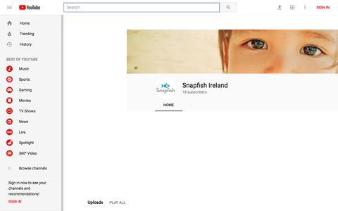 Snapfish Ireland - YouTube - YouTube