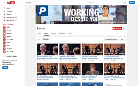 Paychex  - YouTube