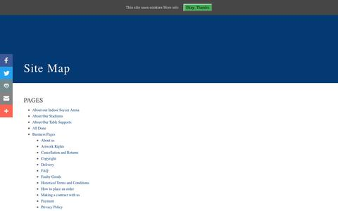 Screenshot of Site Map Page flickforkicks.com - Site Map – FlickForKicks Shop - captured Nov. 25, 2016