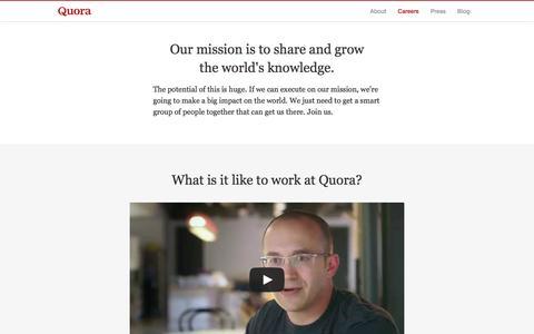 Careers - Quora