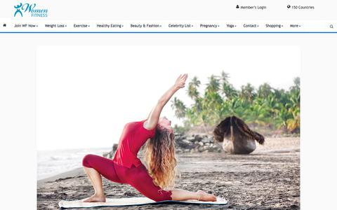 Yoga in Action - Women Fitness