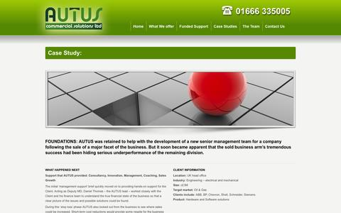 Screenshot of Case Studies Page autuscommercial.co.uk - Autus | Commercial Solutions Ltd | Case Study - captured Oct. 4, 2014