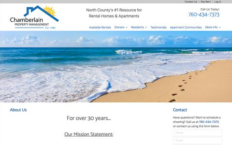 About Us | Chamberlain Property Management