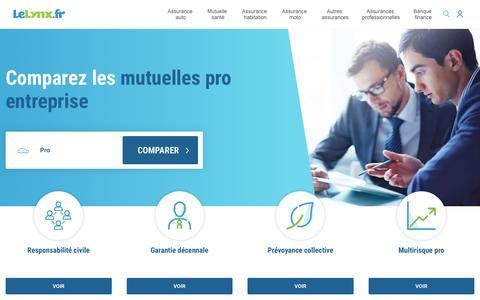 Assurance Professionnelle : Comparateur et Devis - LeLynx.fr