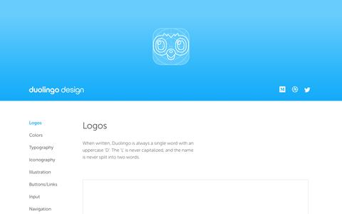 Duolingo: Design Guidelines
