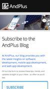 New Landing Page AndPlus LLC
