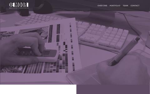 Screenshot of Team Page demoor.eu - De Moor Creative Industries - captured Oct. 29, 2014
