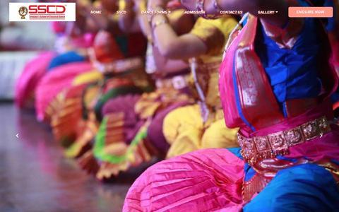 Screenshot of Home Page sreejaya.in - Classical Dance Classes in Bangalore Bharatnatyam Classes in Bangalore - Sreejaya - captured Oct. 25, 2018