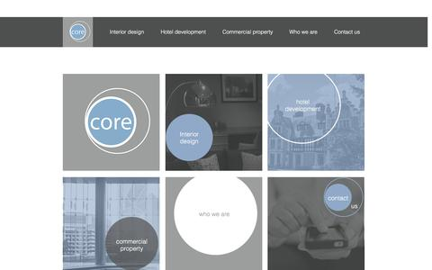 Screenshot of Home Page core-re.co.uk - Core Real Estate - captured Nov. 12, 2016