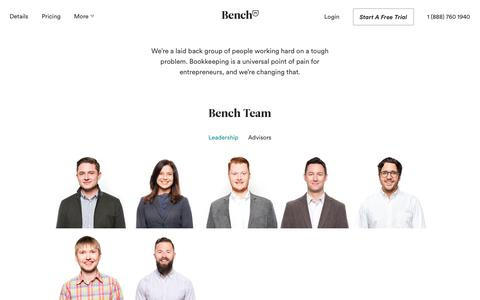 Bench — About Bench Accounting