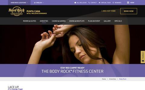 Body Rock® | Hard Rock Punta Cana All Inclusive