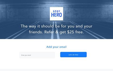 Share | Spot Hero