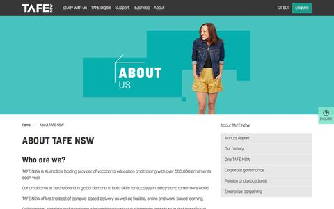About Us - Get Qualified with TAFE NSW - TAFE NSW