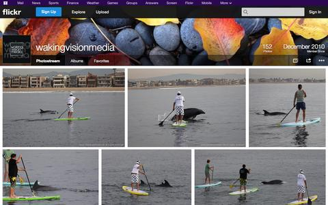 Screenshot of Flickr Page flickr.com - Flickr: wakingvisionmedia's Photostream - captured Oct. 27, 2014