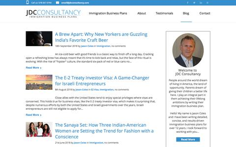 Screenshot of Blog jdcconsultancy.com - Blog   JDC Consultancy - captured Sept. 25, 2018