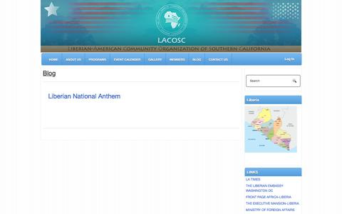 Screenshot of Blog lacosc.org - Blog | Lacosc - captured March 4, 2017