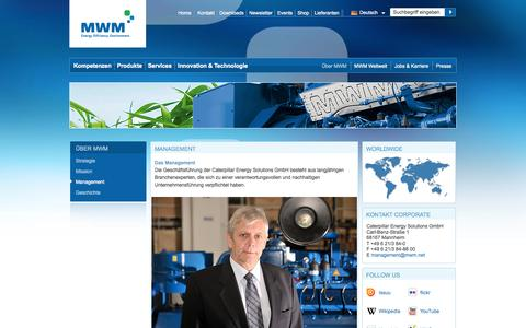 Screenshot of Team Page mwm.net - MWM | Management - captured Sept. 23, 2014